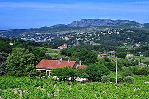 Cassis - View of Cassis