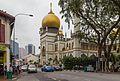 2016 Singapur, Kampong Glam, Meczet Sułtana (02).jpg