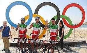 Iran at the 2016 Summer Olympics - Iranian cycling team at the 2016 Summer Olympics.