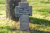 2017-09-28 GuentherZ Wien11 Zentralfriedhof Gruppe97 Soldatenfriedhof Wien (Zweiter Weltkrieg) (086).jpg