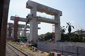 201701 SRT Dark Red Line under construction near Bang Sue.jpg