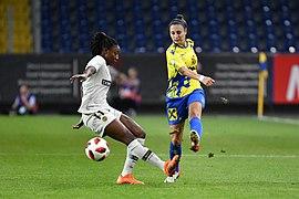 20180912 UEFA Women's Champions League 2019 SKN - PSG Kandidiatou Sauer DSC 4927.jpg