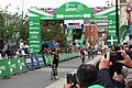 2018 Tour of Britain stage 2 064 Cameron Meyer 1st across the line.JPG