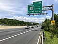 2019-05-27 14 28 45 View north along the outer loop of the Capital Beltway (Interstate 95 and Interstate 495) at Exit 7B (Maryland State Route 5 NORTH-Branch Avenue, Silver Hill) in Camp Springs, Prince Georges County, Maryland.jpg