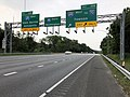 2019-06-05 11 19 04 View south along Interstate 95 at Exit 49B (Interstate 695 WEST, TO Interstate 70, Towson) in Arbutus, Baltimore County, Maryland.jpg