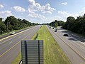 2019-07-28 16 46 55 View south along Interstate 695 (Baltimore Beltway) from the overpass for Diamond Point Road in Dundalk, Baltimore County, Maryland.jpg
