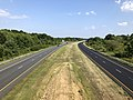 2019-07-28 17 10 05 View south along Interstate 695 (Baltimore Beltway) from the overpass for Cove Road in Dundalk, Baltimore County, Maryland.jpg
