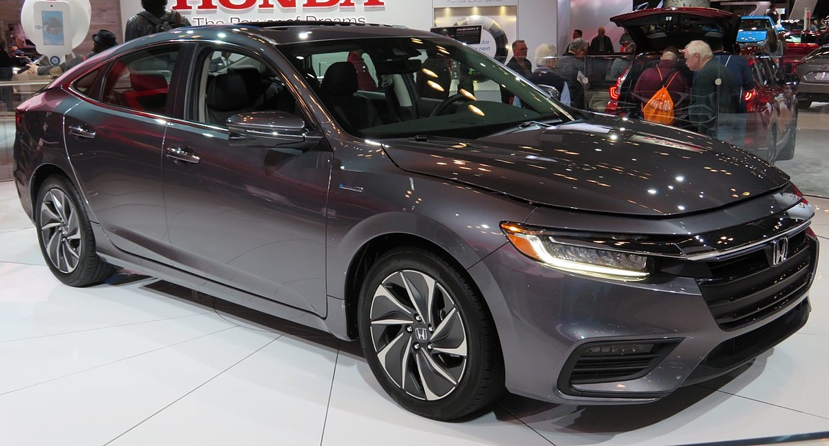Px Honda Insight Hybrid Touring Front
