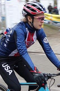 Clara Honsinger American cyclist
