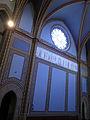 220 Santuari de la Misericòrdia (Canet de Mar), rosassa i pintura lateral de la nau.JPG