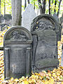 251012 Detail of tombstones at Jewish Cemetery in Warsaw - 53.jpg