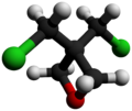 3,3-Bis(chloromethyl)oxetane-3D-balls-by-AHRLS-2012.png