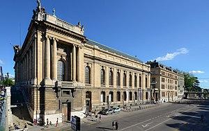 Musée d'Art et d'Histoire (Geneva) - North-West Façade of the Musée d'Art et d'Histoire