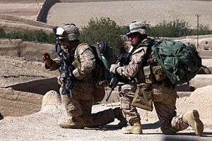 Battle of Sangin (2010) - Image: 3rd Battalion 5th Marines in Sangin Valley 2010 10 07 2