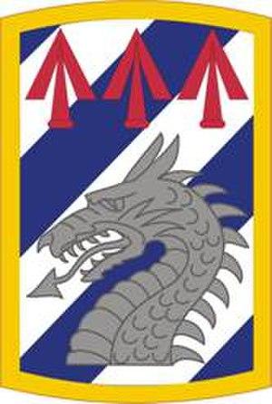 3rd Sustainment Brigade (United States) - 3rd Sustainment Brigade shoulder sleeve insignia