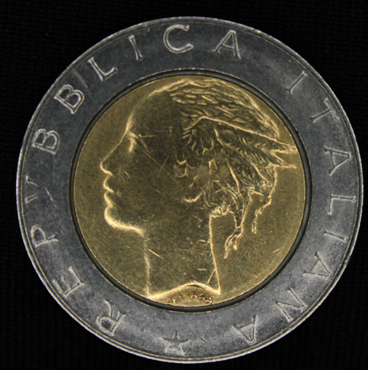 62ba63bb9e 500 lire (moneta) - Wikipedia