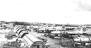 505th Bombardment Group B-29s North Field Tinian July 1945