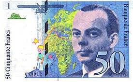 50 francs banknote A
