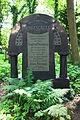 598683 Wrocław Cmentarz Żydowski - nagrobki 03.JPG
