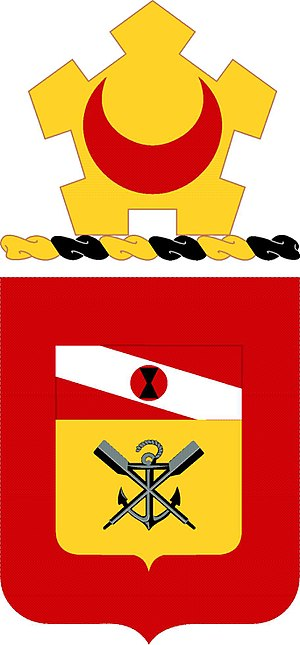 Coats of arms of U.S. Engineer Battalions