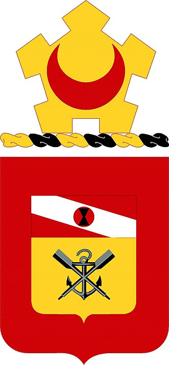 Coats of arms of U.S. Engineer Battalions - Image: 5 Eng Bn Co A