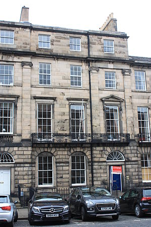 Robert Graham (botanist) - Robert Graham's house at 62 Great King Street, Edinburgh