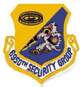 6950th Electronic Security Group Emblem 6950 Gp