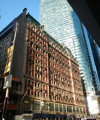 The Knickerbocker Hotel (Manhattan) - The Knickerbocker Hotel, 2012