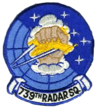 739th Radar Squadron - Emblem