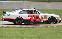 The 76 car at the 2014 Gardner Denver 200 with Tommy Joe Martins driving.