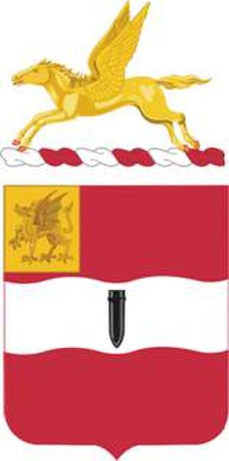 82nd Field Artillery Regiment - 82nd Field Artillery coat of arms