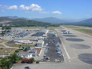 Ajaccio Napoleon Bonaparte Airport airport