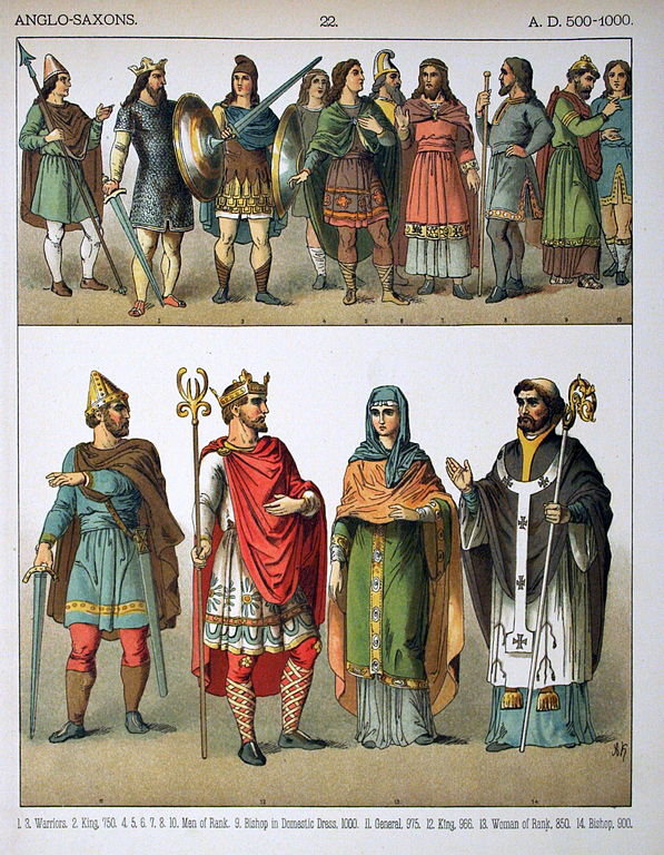 Anglo-Saxons - Wikipedia