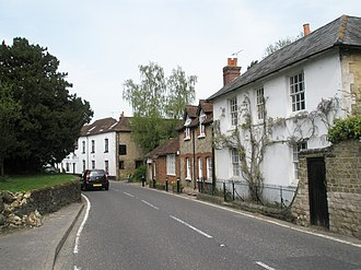 Rogate - Image: A272 in centre of Rogate geograph.org.uk 786534