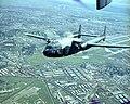AC-119G of 17th SOS over Tan Son Nhut Air Base 1969.jpg