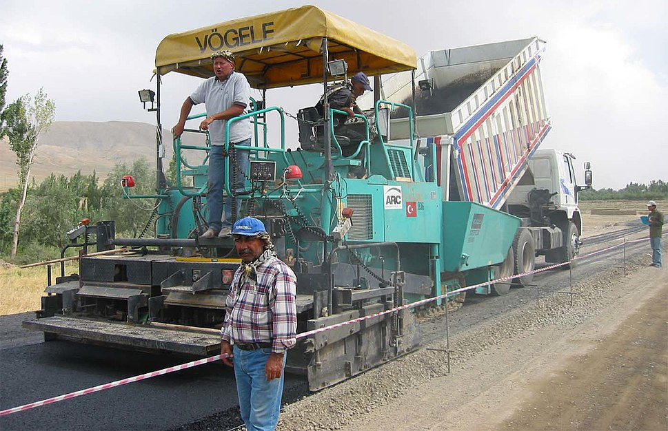 AF-asphalt-laying-machine