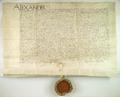 AGAD Aleksander, krol polski, zawiera uklad z ksiezna Anna i dostojnikami mazowieckimi w sprawie lenna mazowieckiego.png