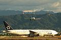 ANA B777-200 & A320 @MYJ RJOM (2074293736).jpg