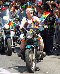 A Dyke on a Bike by David Shankbone.jpg