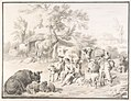 A Herdswoman Seated Amongst Her Animals, with a Lamb in Her Arms MET DP800099.jpg