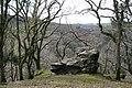 A Rock on the Hillside - geograph.org.uk - 797581.jpg