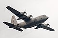 A U.S. Air Force C-130 Hercules aircraft assigned to the 36th Airlift Squadron flies over Yokota Air Base, Japan, Jan. 9, 2014 140109-F-PM645-096.jpg