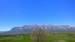 region of Isfahan Province, Iran