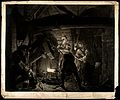 A blacksmith's forge. Mezzotint by R. Earlom, 1778, after J. Wellcome V0024694.jpg