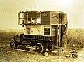 A motor pigeon loft, British Activities, WWI (28602320906).jpg