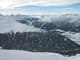Grison Alps mountain range