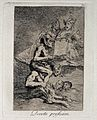 A naked witch carried on the shoulders of a monster sings fr Wellcome V0025844.jpg
