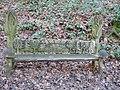 A seat in Shoreham Woods - geograph.org.uk - 641941.jpg