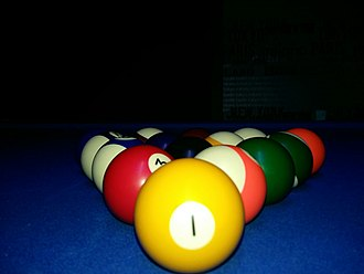Billiard ball - A set of billard balls