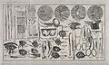 A sheet showing optical instruments, eye examinations and an Wellcome V0015917.jpg